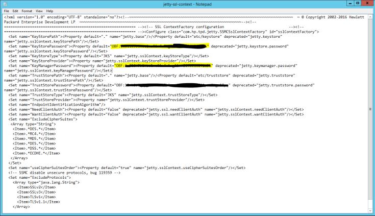 HPE 3PAR SSMC SSL Certificate Change – Ross Savage